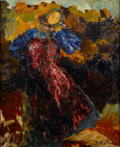 Philip Maliavin, Peasant woman