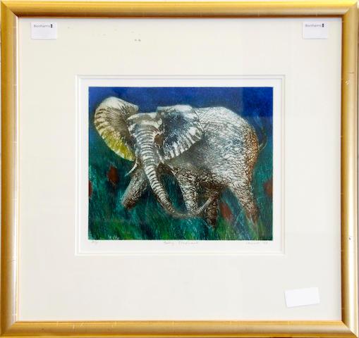 Chinwe Chukwuogo-Roy, M.B.E. (Nigerian, born 1952) Baby elephant