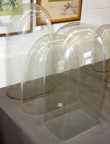 Three large glass domes 3