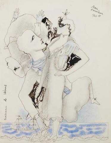 Jean Cocteau (French, 1889-1963) Naissance de Vénus
