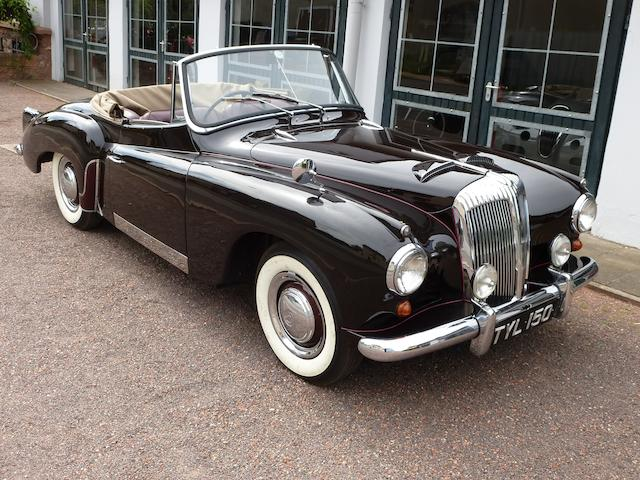 Formerly the property of Lady Docker,1957 Daimler Conquest 'New Drop-Head Coupé'  Chassis no. 90541 Engine no. 73088