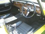 1967 Lotus Elan Series 3 Drophead Coupé  Chassis no. 36-6985 Engine no. LP8125LAA
