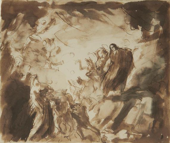 Augustus John O.M., R.A. (British, 1878-1961) Walpurgisnacht