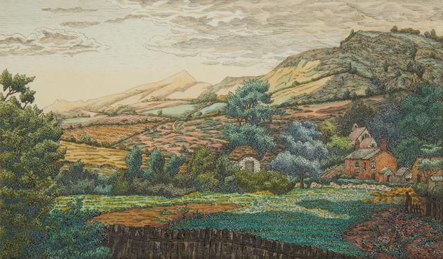 Charles Ginner (British, 1878-1952) Landscape