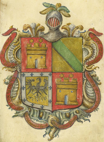SPAIN, GENEALOGY Certification of Arms and genealogy of Don Manule Antonia Diaz y Diez-Niño, 1732; and others (3)