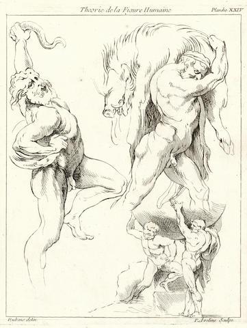 RUBENS (PETER PAUL) Théorie de la figure humaine, considérée dans ses principes, soit en repos ou en mouvement, 1773