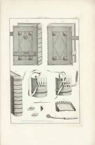 BOOKBINDING DUDIN (RENE MARTIN) L'art du relieur doreur de livres, Paris, 1772