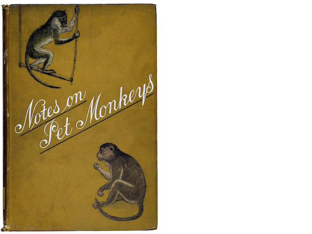 PET MONKEYS PATTERSON (ARTHUR) Notes on Pet Monkeys and How to Manage Them