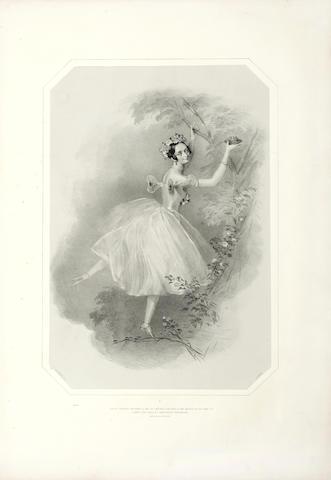 BALLET CHALON (A.E.) La Sylphide. Souvenir d'adieu de Marie Talioni, 1845