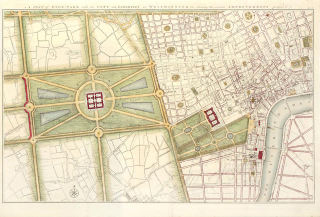 LONDON GWYNN (JOHN) London and Westminster Improved, Illustrated by Plans, 1766--NOORTHOUCK (JOHN) A New History of London, including Westminster and Southwark, 1773--DUGDALE (WILLIAM) The History of Saint Paul's Cathedral, 1818; and 5 others, also London (8)