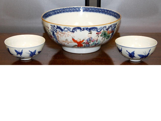 A Chinese famille rose bowl 19th Century