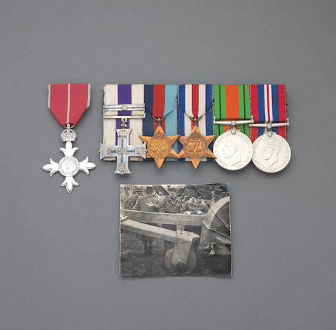 A Post War M.B.E. and Second World War M.C. and bar group of six to Major A.H.Warde, Royal Signals late Royal Engineers,