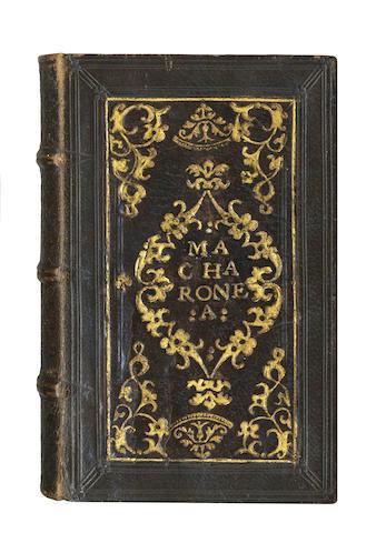 FOLENGO (TEOFILO) Opus Merlini Cocaii Poete Mantuani Macaronicorum, 1521