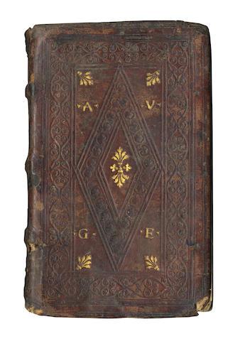 GELLIUS (AULUS) Noctium atticarum, 1515