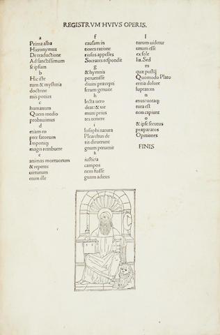 EUSEBIUS (PAMPHILIUS) De Evangelica praeparatione