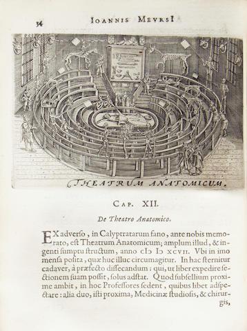 MEURSIUS (JOANNES) Athenae Batavae, 1625