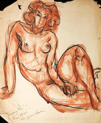 Fahrelnissa Zeid (Turkish, 1901-91) Six female nude studies (6)