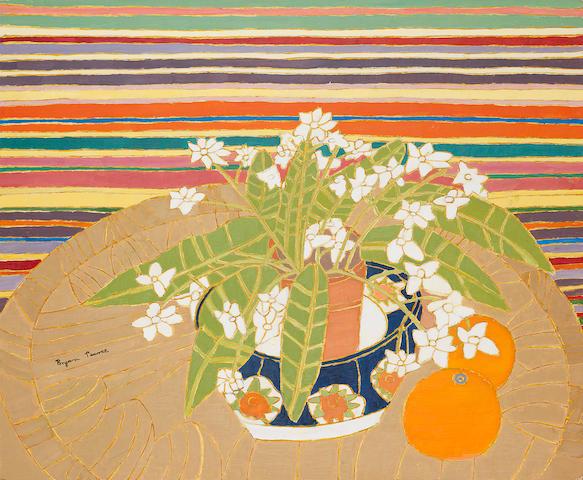 Bryan Pearce (British, 1929-2007) Streptocarpus 50.7 x 61 cm. (20 x 24 in.)