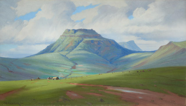 Willem Hermanus Coetzer (South African, 1900-1983) Majuba Natal
