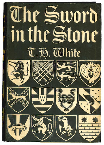 WHITE (T.H.)  The Sword in the Stone, 1938; The Witch in the Wood, 1940; The Ill-Made Knight, 1941, FIRST ENGLISH EDITIONS (3)
