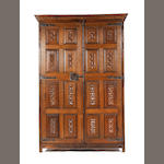 An English oak cupboard