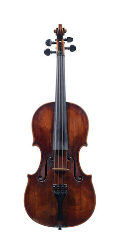 A Violin of the Prague School  circa 1860 (5)