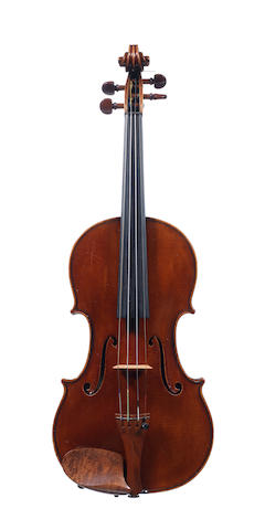 An English Violin by Alfred Thomas Dixon, Folkestone 1941 (1)