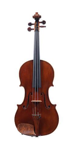 An English Violin by Alfred Thomas Dixon,  Folkestone 1941 (1)