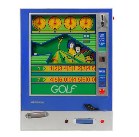 "Wurlitzer: A""Golf"" slot machine circa 1968"