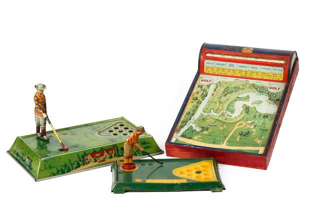 Hustler Toy Company : Golf circa 1920s