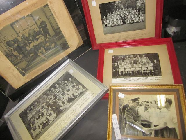1890 onwards Arsenal team/individual pictures