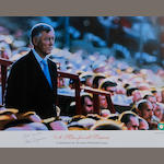 'A Man for all Seasons' Alex Ferguson hand signed lithograph