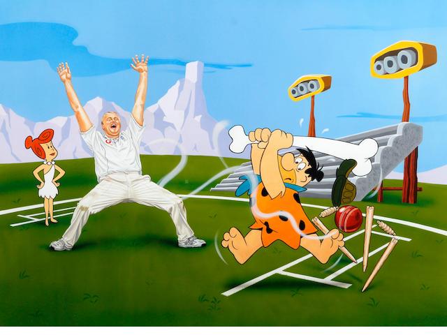 'Alter Ego' Fred Flintoff/Flintstone W/C