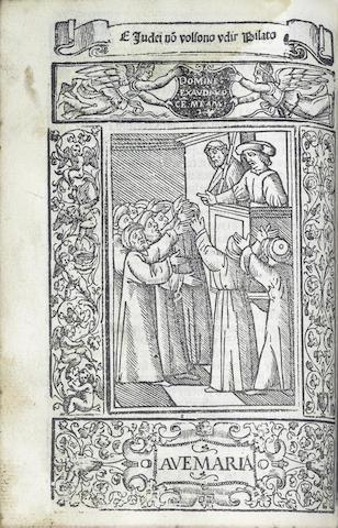 ALBERTO da Castello. Rosario della glo[ri]sa v[er]gine Maria, 1556