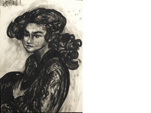 Fahrelnissa Zeid (1919-91) A group of 10 portraits (1)