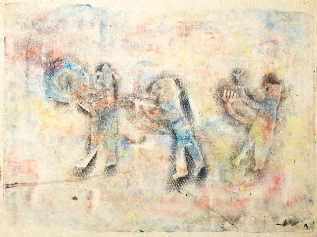 Aliye Berger (Turkish, 1901-74)  Four Mixed Media Works - CHECK MEDIA