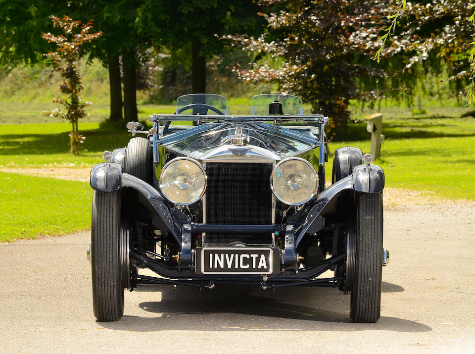 1931 Invicta 4½-Litre S-Type Low-chassis Tourer 'Bluebird'  Chassis no. S37 Engine no. 7403
