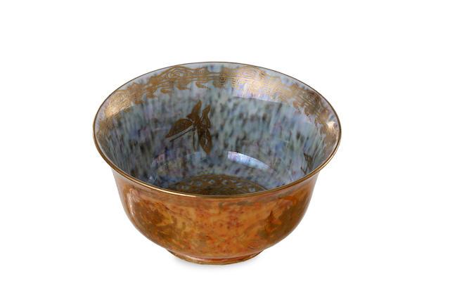 A Wedgwood lustreware bowl