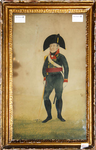 French School, 19th century A Napoleonic Officer