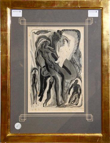 Blair Hughes-Stanton (British, 1902-1981) Rebirth, 1930
