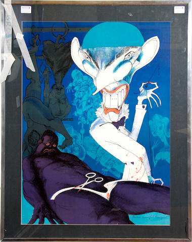 Gerald Scarfe (British, born 1936) Another Succesful transplant