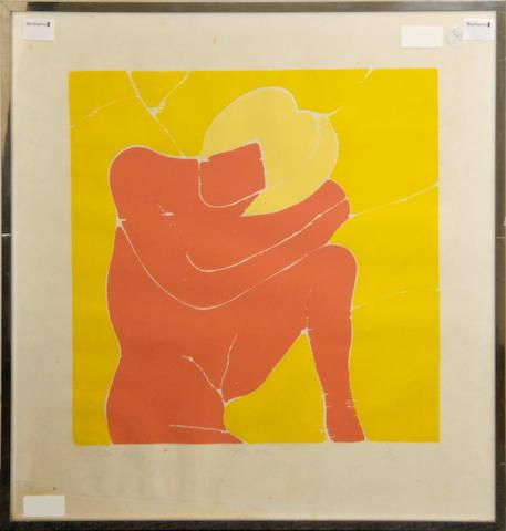 Philip Sutton (British, born 1928) Pink Nude
