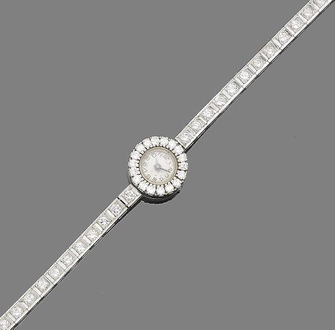 A diamond cocktail watch