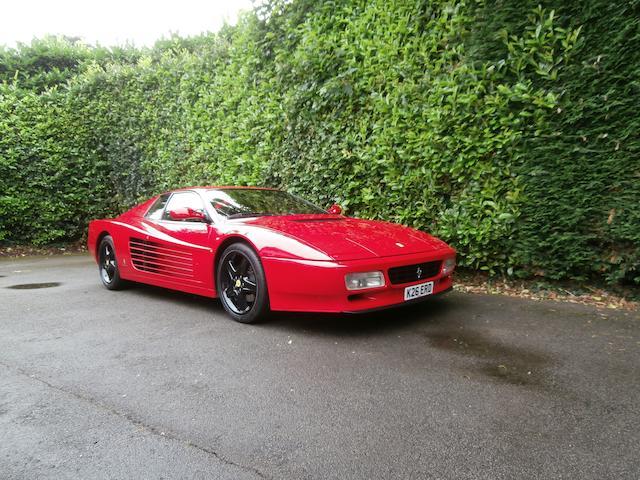 1993 Ferrari Testarossa 512 TR Coupé  Chassis no. ZFFLA40B000096329 Engine no. 33981