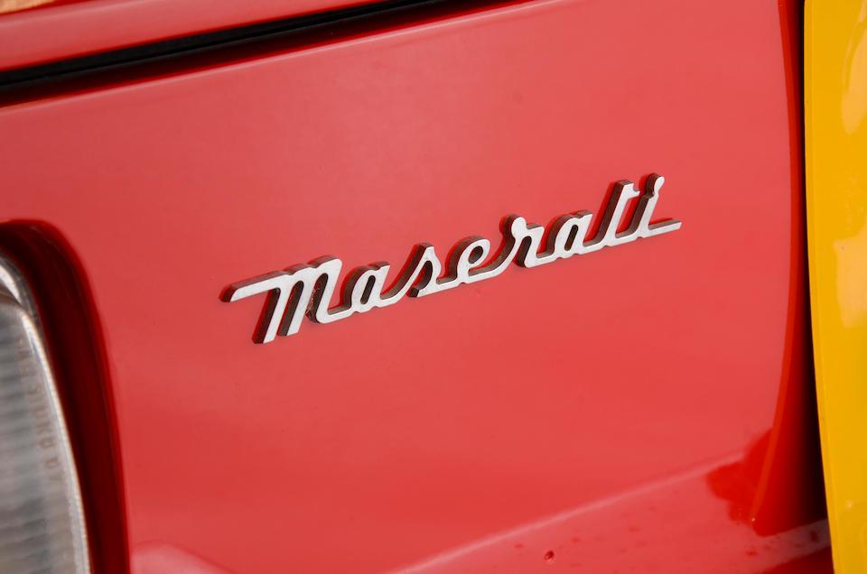 1971 Maserati Ghibli SS 4.9-Litre Spyder Conversion  Chassis no. AM115492052 Engine no. AM115492052