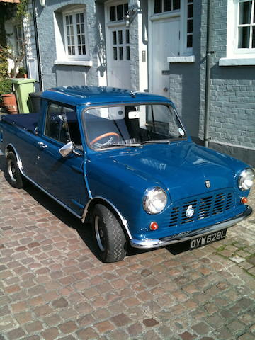 1972 Mini 998cc Pick-Up  Chassis no. XAU1822201A