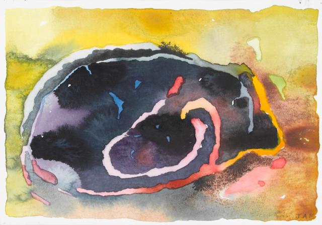 Jenny-Ann Franklin (British, born 1949) 'After Australian Landscape Remembered no.13'