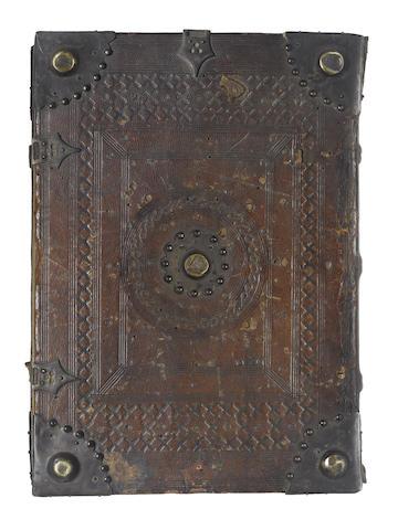 OVIDIUS NASO (PUBLIUS) Fasti [Commentary by Paulus Marsus], Milan, 1483