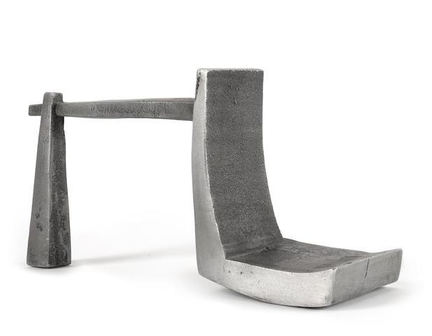 An aluminium Maquette by Geoffrey Clarke
