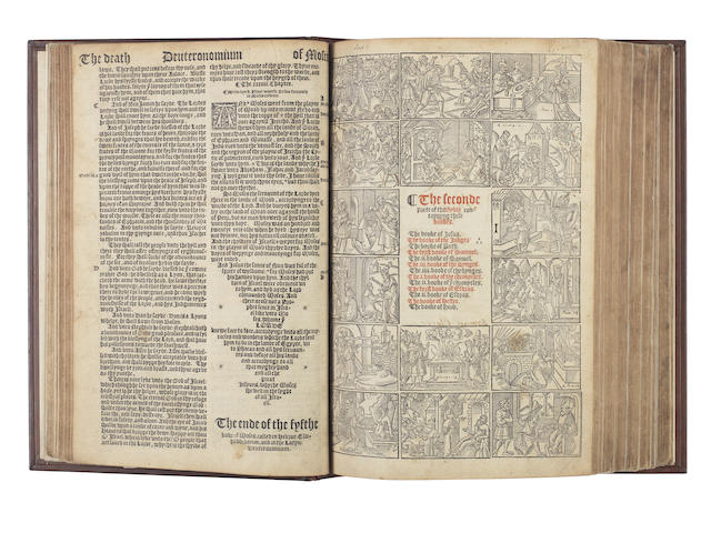 BIBLE, 1541, in English, Great Bible version [The Byble in Englysh]